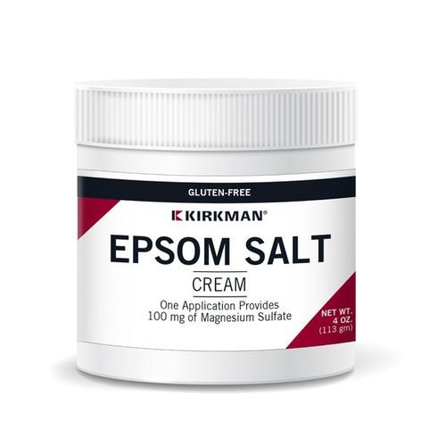 Epsom Salt Cream 4 oz