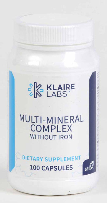 Multi-Mineral Complex Without Iron, 100 caps
