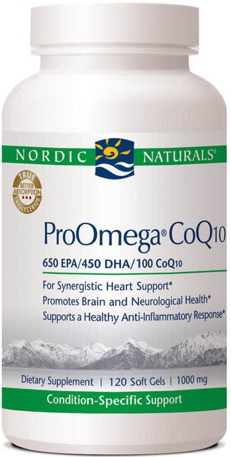 ProOmega-CoQ10, 120 soft gels