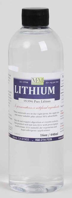 Lithium LARGEMini Minerals 16 oz