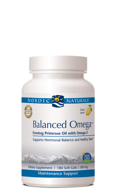 Balanced Omega, 180 soft gels