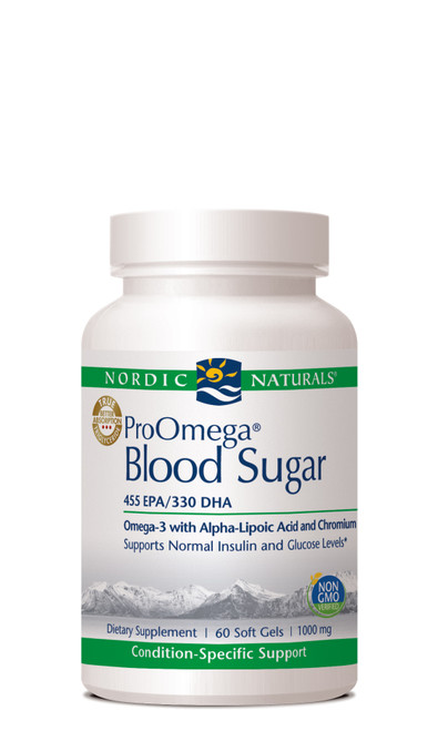 ProOmega Blood Sugar, 60 soft gels