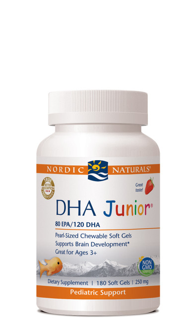 DHA Junior, 180 soft gels