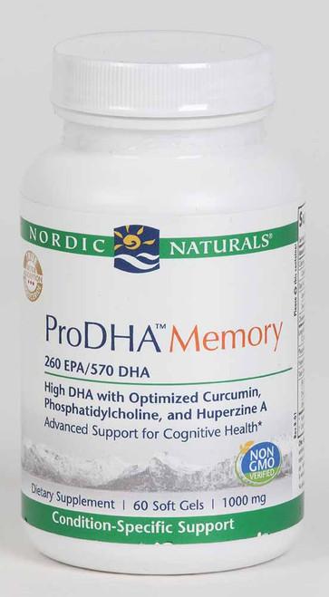 ProDHA Memory, 60 soft gels