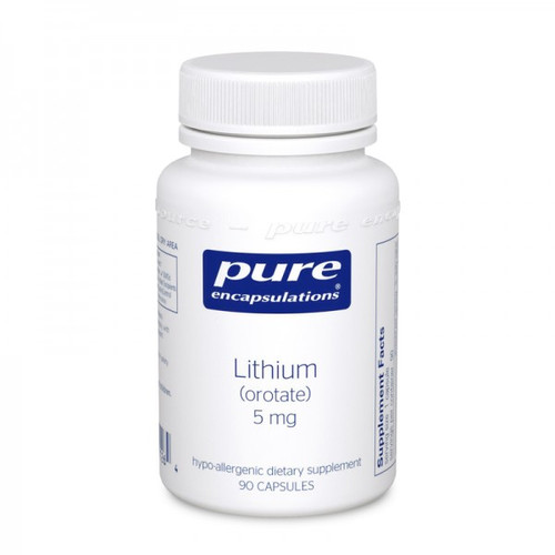 Lithium Orotate 5 mg, 180 caps
