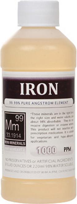 Iron LARGE Mini Minerals 16 oz