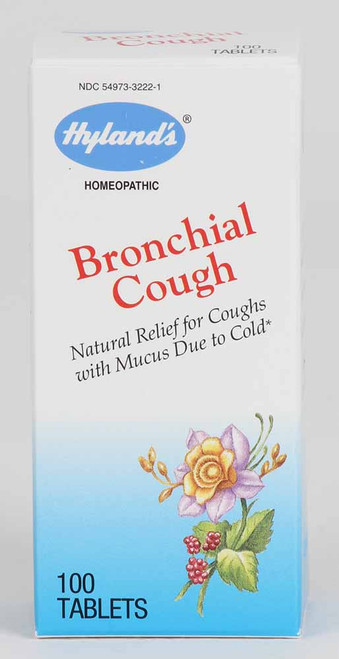 Hyland's Bronchial Cough tablets
