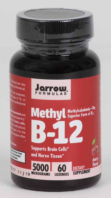 Methyl B-12 5000 mcg 60 sublingual tabs