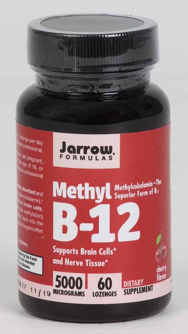 Methyl B-12 5000 mcg 60 sublingual tabs
