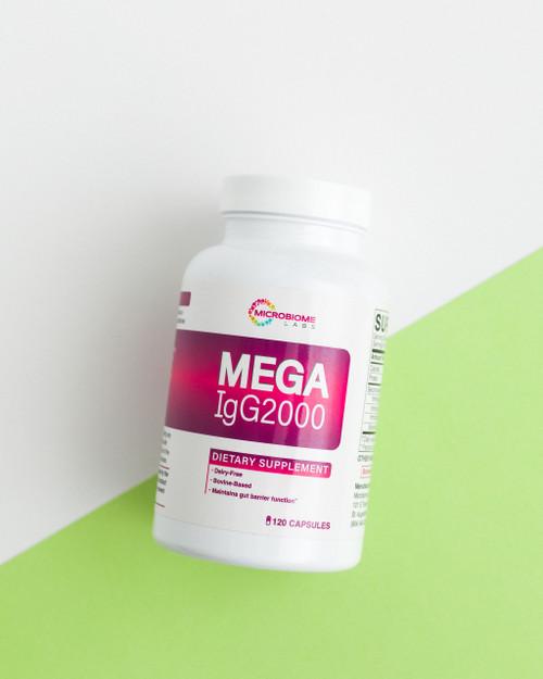 Mega IgG2000, 120 caps