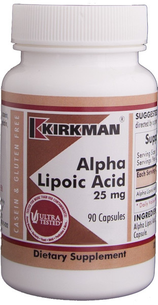Alpha Lipoic Acid (ALA) 25 mg