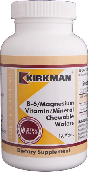 B-6/Mag 50/25 mg, 120 chew wafers