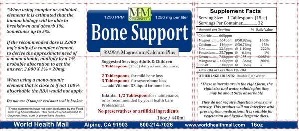 Bone Support Mini Minerals 16 oz