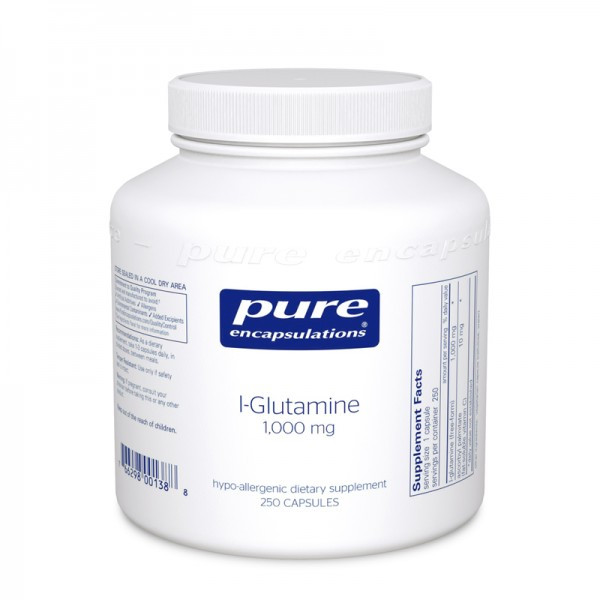 Glutamine 500 mg, 90 caps
