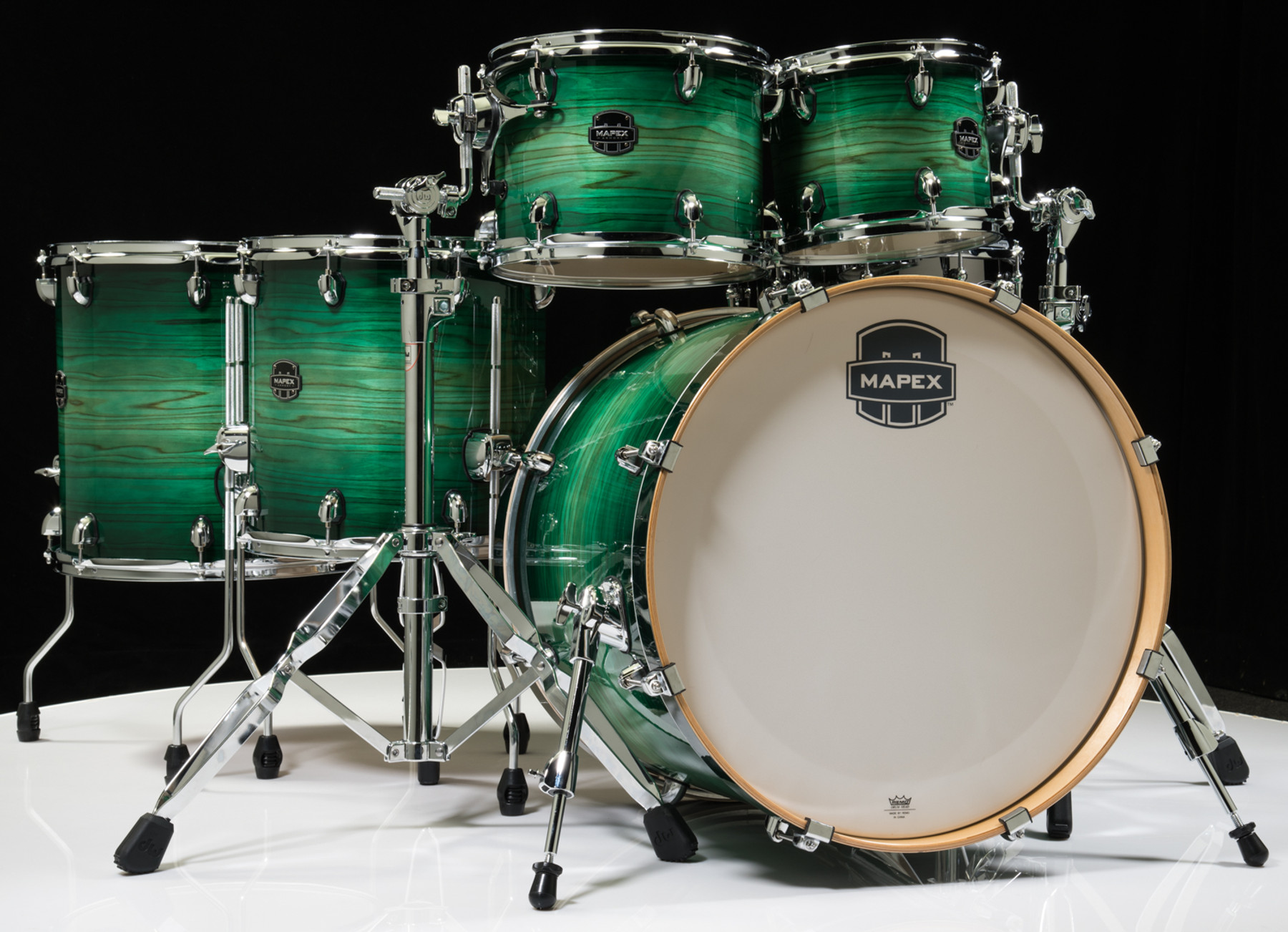 14 Inch Evans Black Chrome Drum Head Renewed