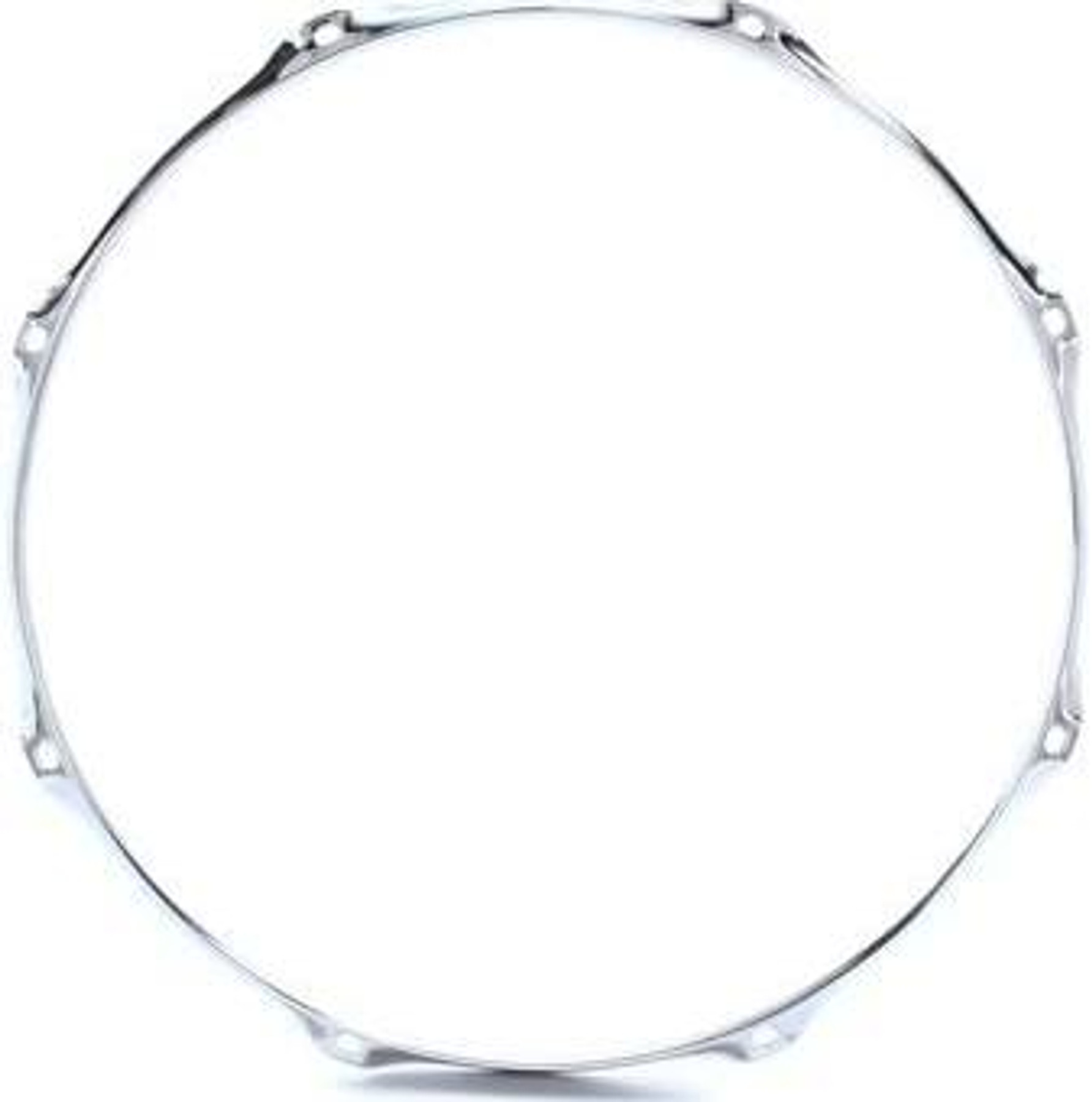 "Tom Snare Batter WW Shipping 14/"" 8  Hole//Lug New 2.3 Chrome Drum Hoop"