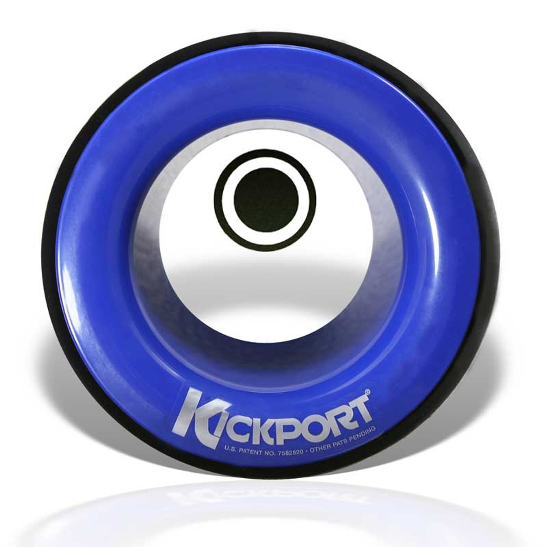 Video Demo KickPort 2 Bass Drum Sound Enhancer Blue