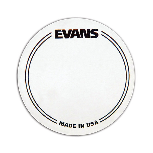 EQPC2 Evans EQ Double Pedal Patch Clear Plastic