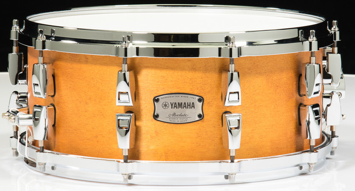 Yamaha Absolute Hybrid Maple 14x6 Snare - Vintage Natural