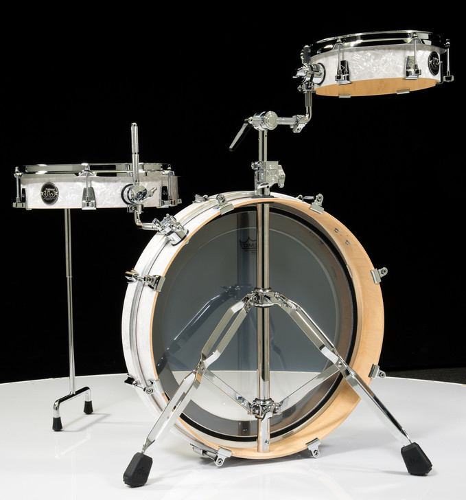 DW Performance Series Low Pro 3pc Shell Pack - White Marine