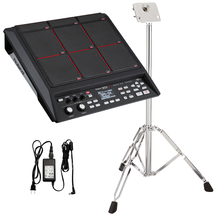 Roland SPD-SX Sampling Percussion with Roland Stand Bundle