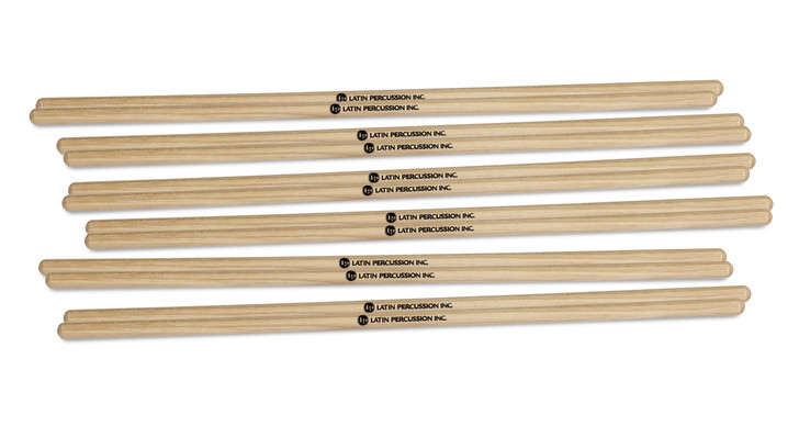 "LP 3/8"" Hickory Timbale Sticks 6Pair"