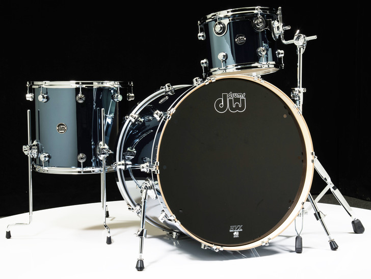 DW Performance Series 3pc Shell Pack 13/16/24 Chrome Shadow