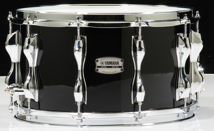 Yamaha Recording Custom 14x8 Snare Drum - Solid Black