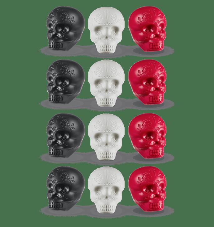 LP Sugar Skull Shakers 12pk Display Box