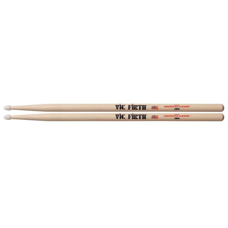 Vic Firth American Classic 5BN Drum Sticks Nylon tip