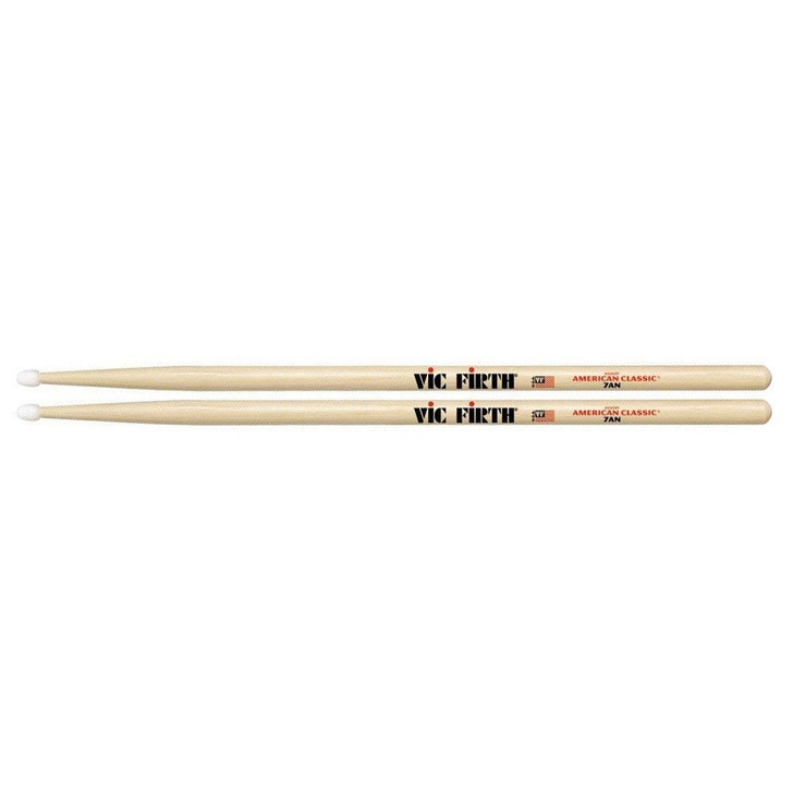 Vic Firth American Classic 7AN Drum Sticks Nylon tip