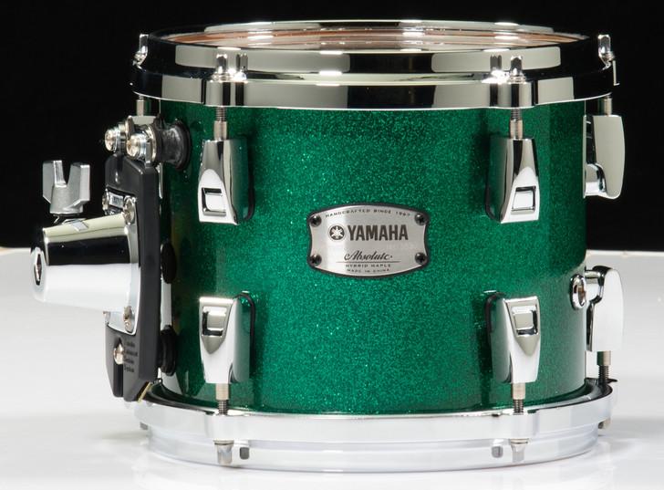 Yamaha Absolute Hybrid Maple 8x7 Tom - Jade Green Sparkle