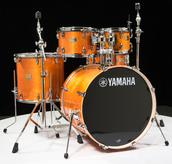 Yamaha Stage Custom Honey Amber 5pc Drum Set w/Hardware