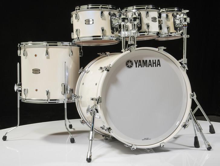 Yamaha Absolute Maple Hybrid 5pc Polar White 8/10/12/16/22