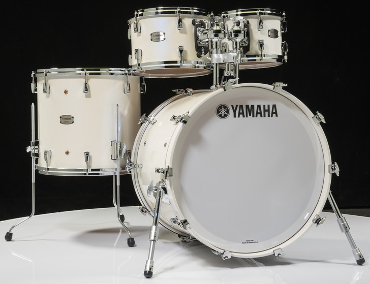 Yamaha Absolute Maple Hybrid 4pc Polar White 10/12/16/22