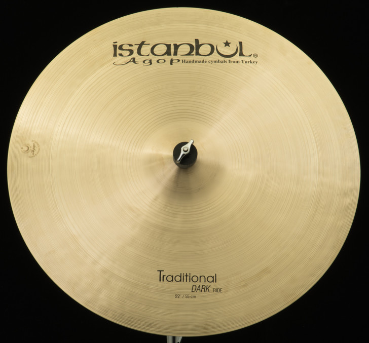 "Istanbul Agop 22"" Traditional Dark Ride"