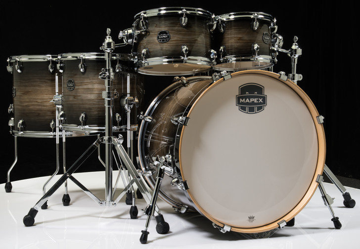 Mapex Armory Shell Pack 6pc Studioease Black Dawn Fast Toms