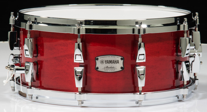Yamaha Absolute Hybrid Maple 14x6 Snare Drum (Red Autumn)