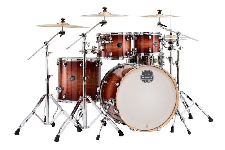 Mapex Armory Series 5pc Rock Shell Pack Redwood Burst