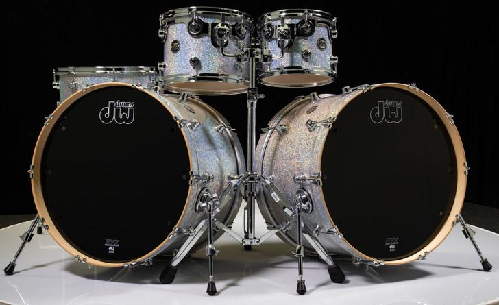 DW Performance Series 5pc Shell Pack 10/12/16/22/22 - Diamond Nebula