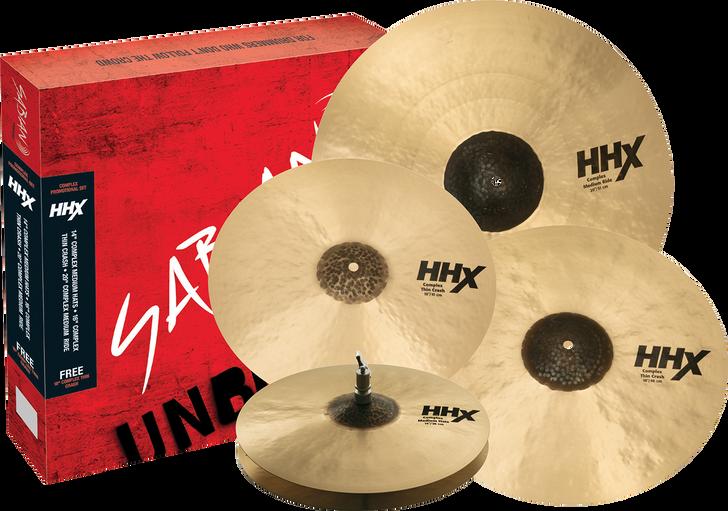 Sabian Cymbals HHX Complex Promotional Set