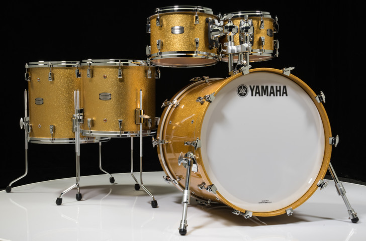 Yamaha Absolute Hybrid Maple Gold Champagne Sparkle 10/12/14/16/22