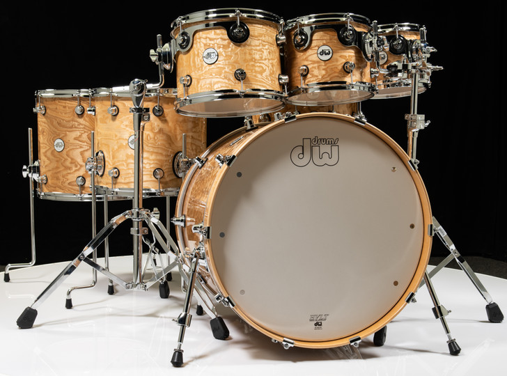 DW Design Series Drum 7pc Shell Pack - Special Edition Tamo Ash