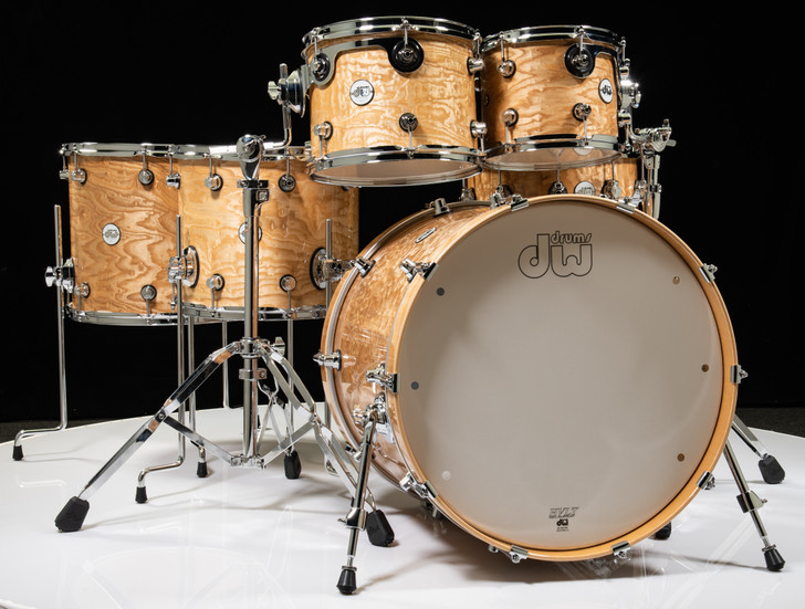 DW Design Series Drum 6pc Shell Pack - Special Edition Tamo Ash