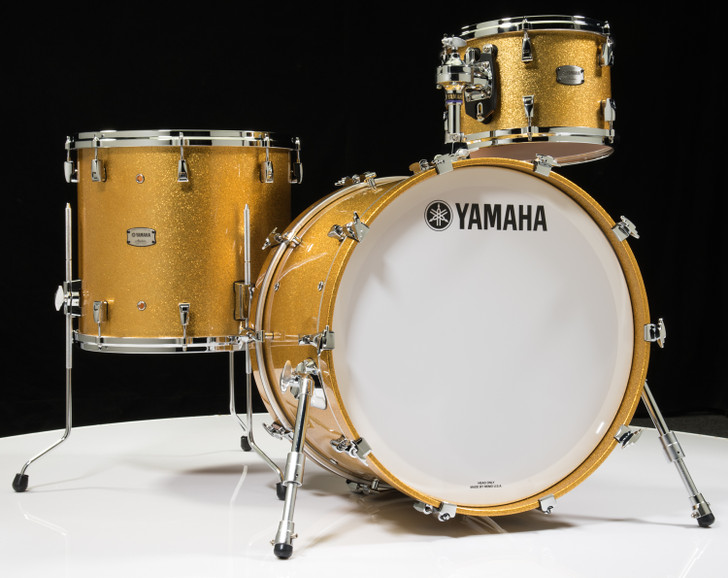 Yamaha Absolute Hybrid Maple 3pc - Gold Champagne Sparkle