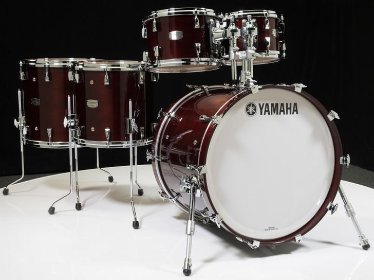 Yamaha Absolute Hybrid Maple 5pc Classic Walnut 10/12/14/16/22