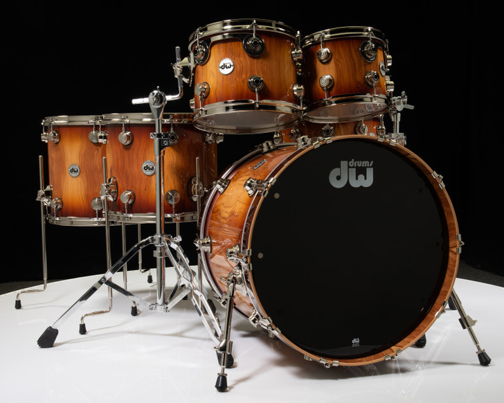 DW Collector's 6pc Shell Pack - Toasted Almond Fade w/ Nickel HW