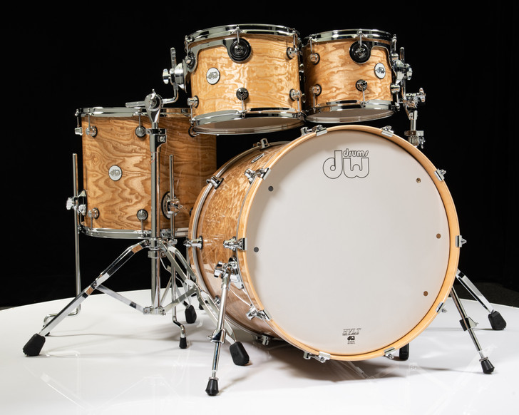DW Design Series Drum 4pc Shell Pack - Special Edition Tamo Ash