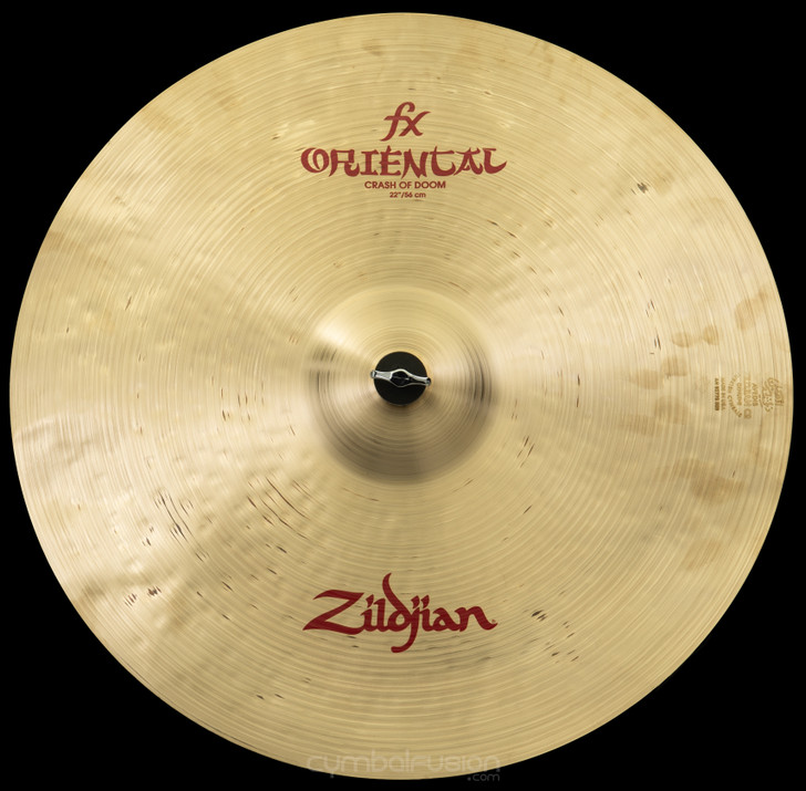 "Zildjian 22"" Oriental Crash Cymbal Of Doom"