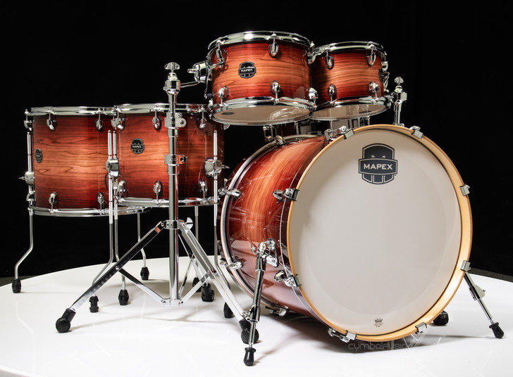 Mapex Armory 6pc Studioease Shell Pack Redwood Burst - Fast Toms